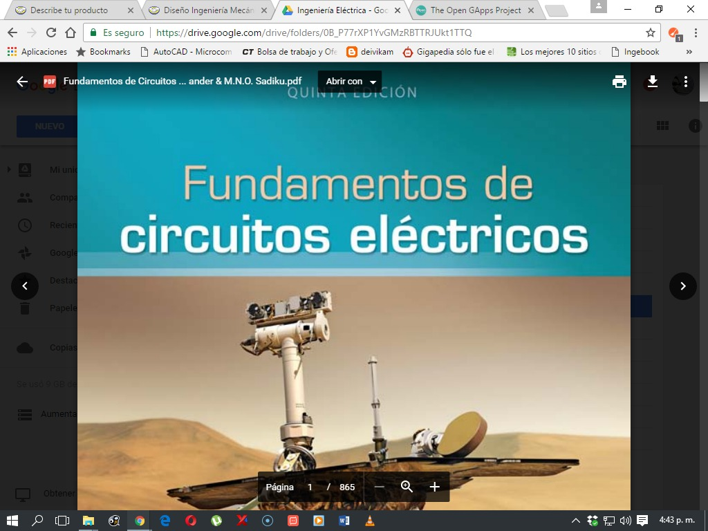 Fundamentos De Circuitos Electricos Sadiku Pdf