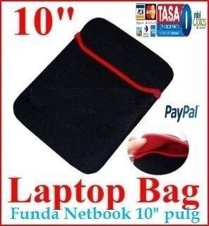 funda 10.1 estuche laptop netbook lenovo hp ideapad s10 wii