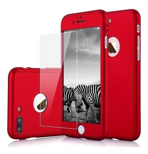0ea4c243b97 Funda 360 iPhone 6, 6 Plus, 7, 7 Plus, 8, 8 Plus X + Cristal ...