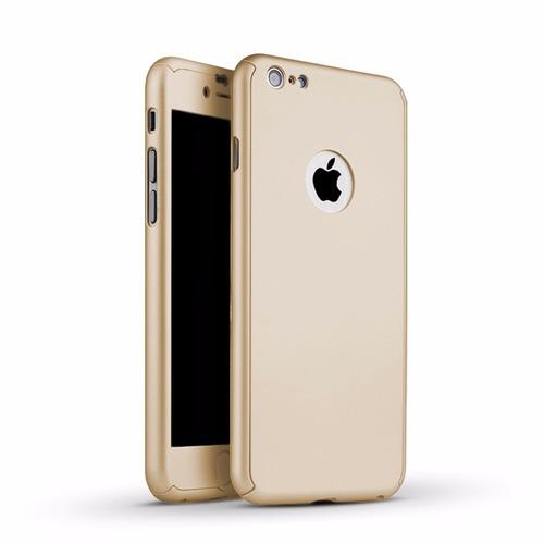 funda 360 protección completa + cristal templado iphone 6 6s