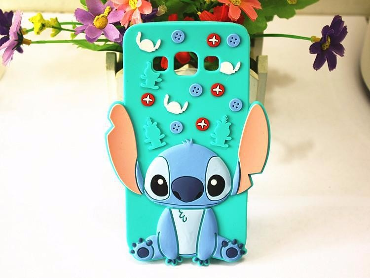 badf7e9c10d Funda 3d Animada Stitch + Vidrio Templado Para Samsung J7 - $ 299,90 ...