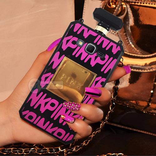 funda 3d perfume pink victoria secret core prime g360 oferta