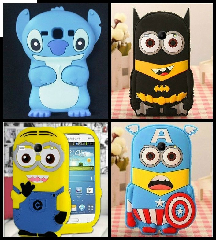 cf6e0931e96 Funda 3d Silicona Stitch Minion Batman iPod 5 Core 2 Moto G - $ 129 ...