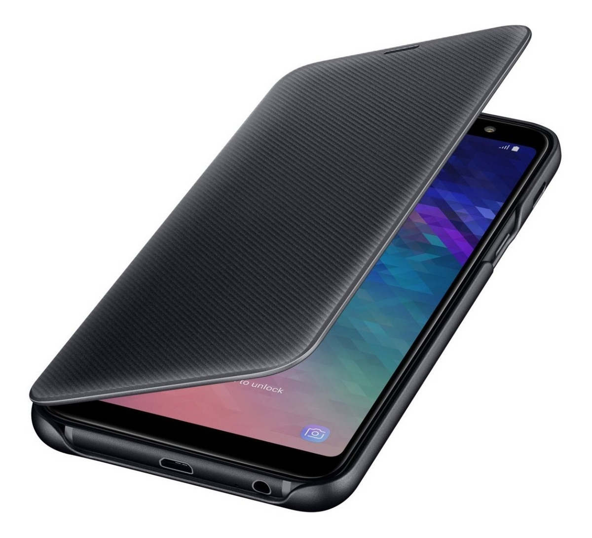 8efdfb813a8 funda a6 plus original samsung galaxy wallet flip cover 2018. Cargando zoom.