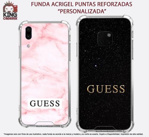 funda acrigel guess lujo galaxy a6 a8 plus a7 a9 2018 j4 m20