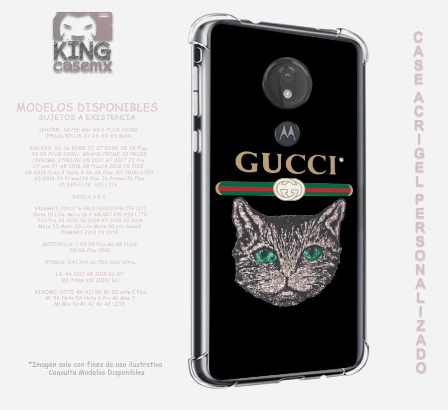 super popular 73265 72168 Funda Acrigel Rudo Gucci iPhone 5 6 7 8 Plus X Xs Xr Xs Max