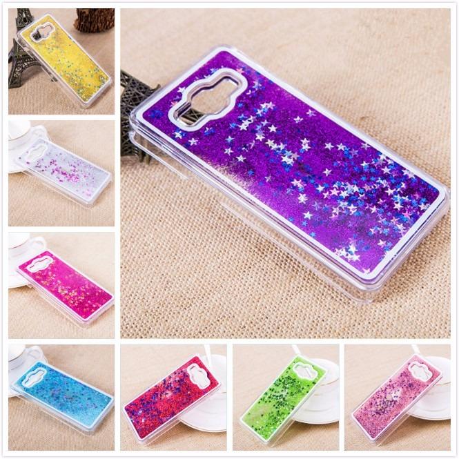 9fc151610d6 Funda Acrilico Agua Brillo Estrellas + Glass Samsung J1 Ace - $ 199 ...