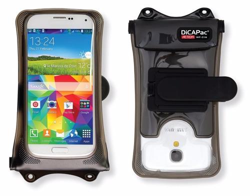 funda acuática dicapac wp-c1a para iphone y celulares gopro