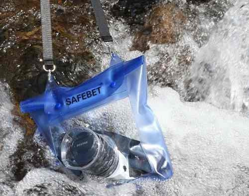 funda acuatica para camara digital camara reflex celular