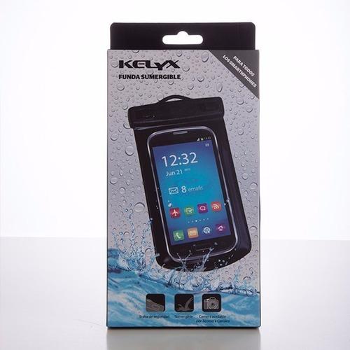 funda acuática para celular