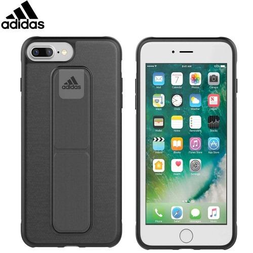 timeless design edf51 b1a93 Funda adidas Grip Case iPhone 8 Plus / 7 Plus / 6 Plus Gris