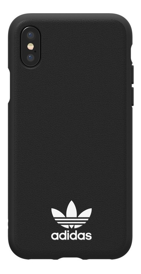 ecef04765d3 Funda adidas iPhone Xs, iPhone X, Or Moulded, Negro/blanco ...