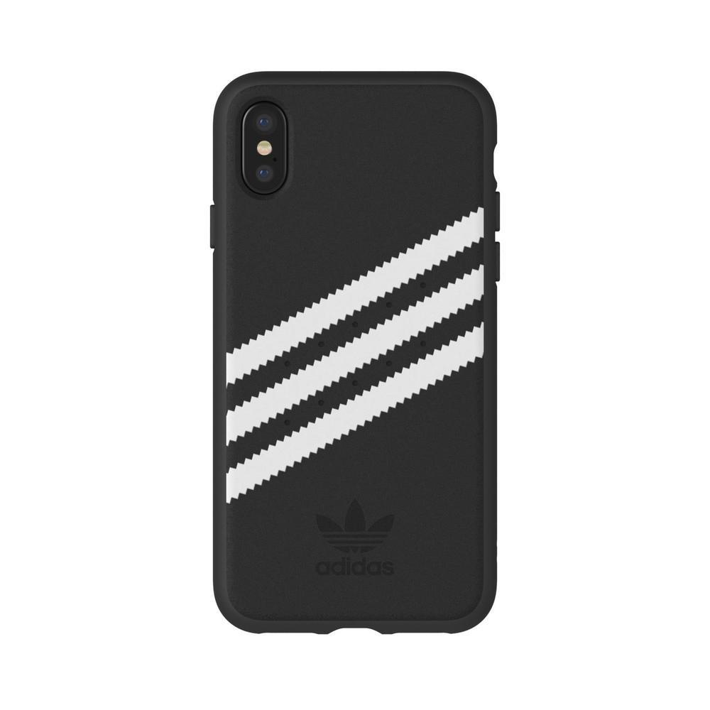 f61cc3e7346 funda adidas iphone xs, iphone x, or stripes, negro/blanco. Cargando zoom.