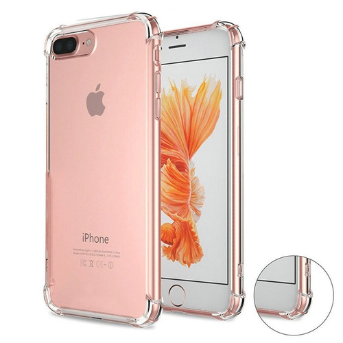 funda air case anti impacto + mica vidrio iphone 5 5s se