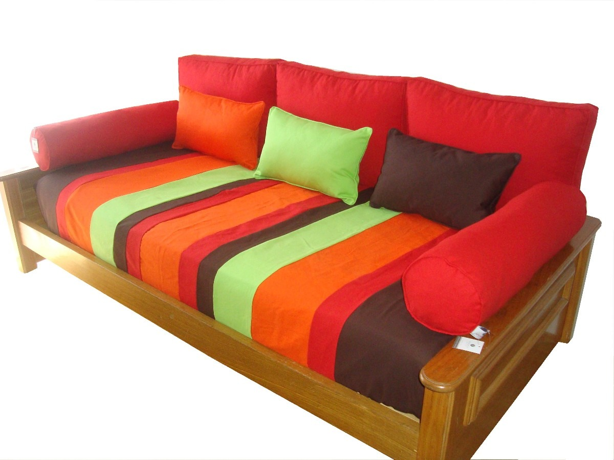 Como hacer funda para sofa simple am am with como hacer for Divan 1 plaza