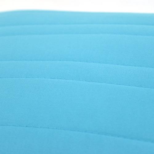 funda almohada decorativa basic king size turquesa vianney