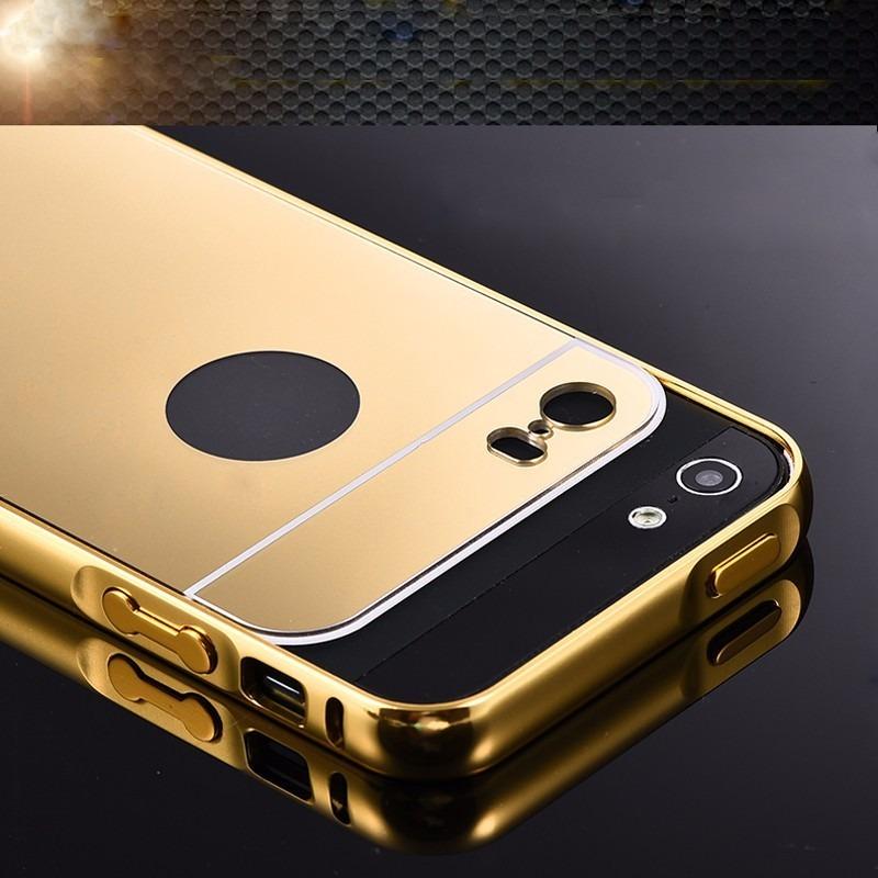 Funda protector bumper aluminio case tipo espejo iphone 5c en mercado libre - Funda bateria iphone 5c ...