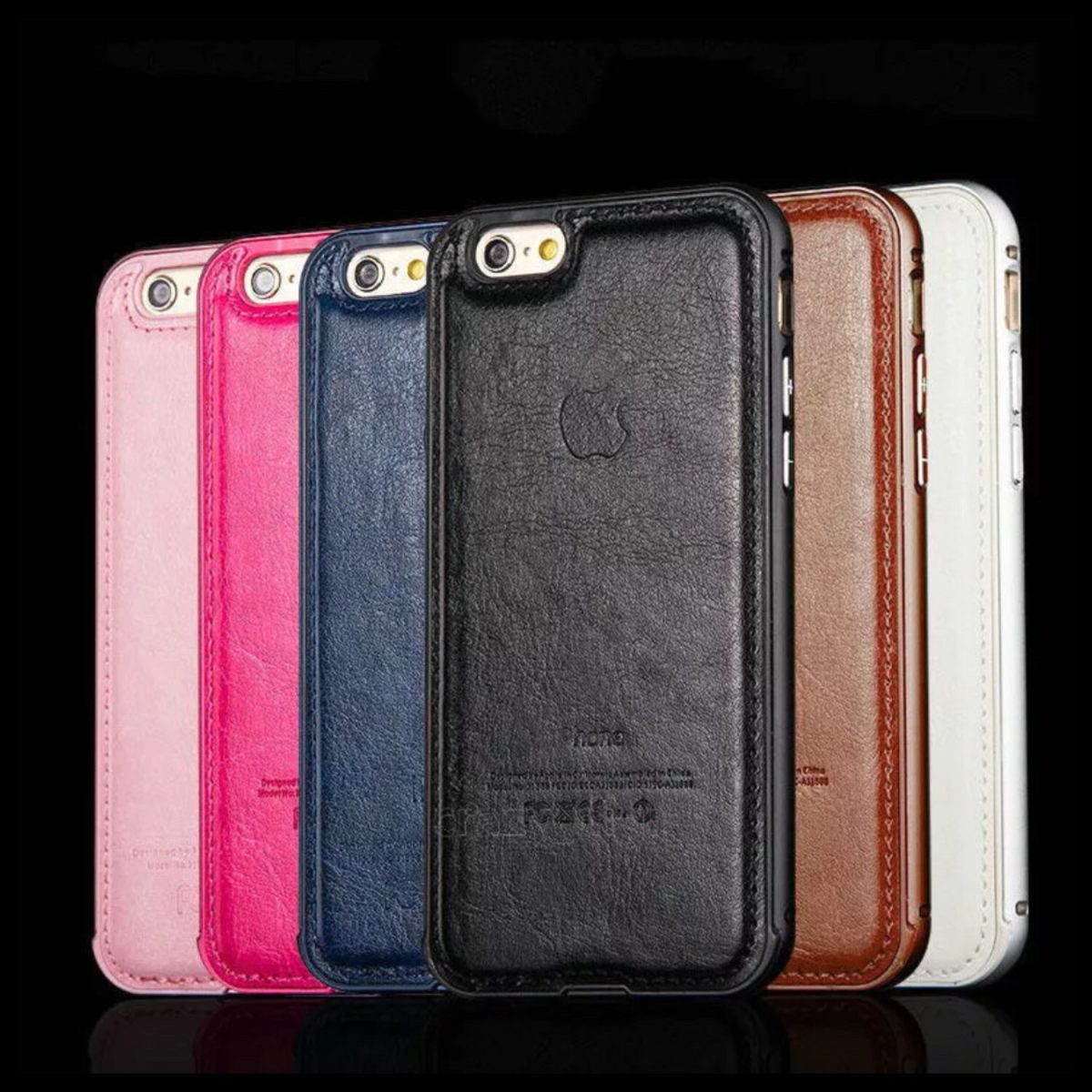 carcasa piel iphone 6s plus