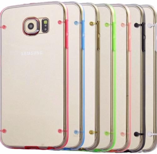 funda antigolpes bumper ultra fina iphone 6 plus y 6s plus