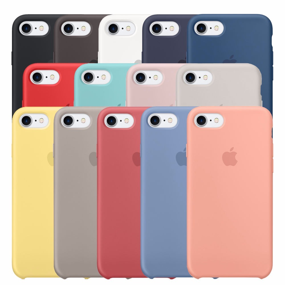 best service 97ca4 57af1 Funda Apple Silicon iPhone 6 / 6s / 7 / 8 / Silicon Case