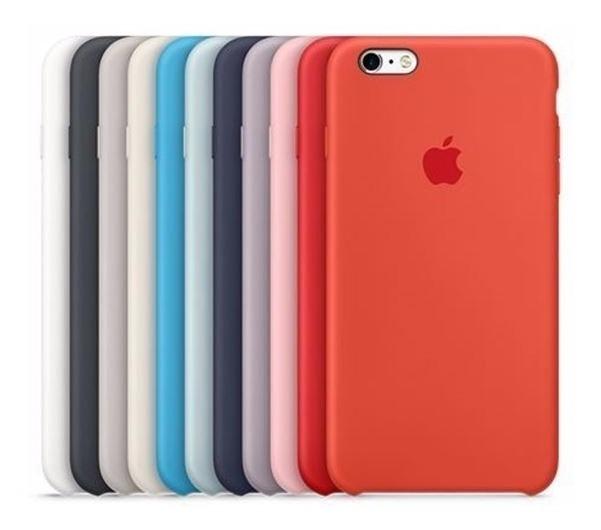 cf4d7eb0d03 Funda Apple Silicone Case iPhone 6 Plus Original Colores!! - $ 499 ...