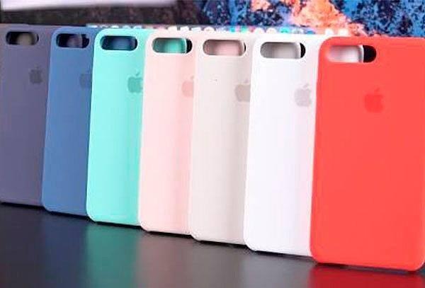 aed1d0a1c58 Funda Apple Silicone Case iPhone 7&8 Plus - $ 499,99 en Mercado Libre