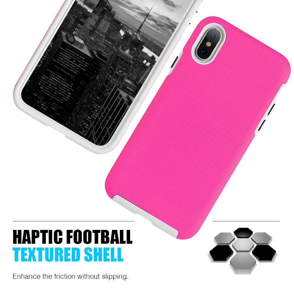 7ff574c4cff funda ara iphone xr doble protector de uso rudo ezpress rosa. Cargando zoom.