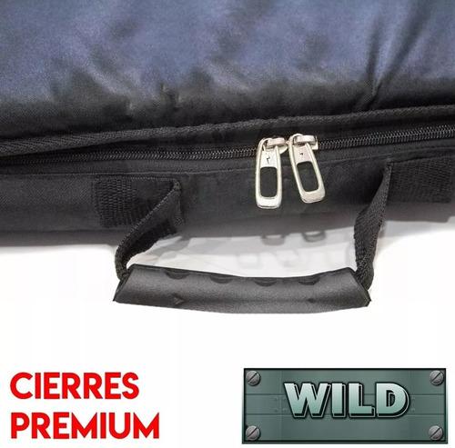 funda arco compuesto wild reforzada 95 cm bolsillo bandolera