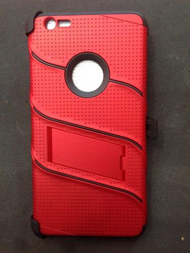 funda armor iphone 6s plus+ glass templado gratis