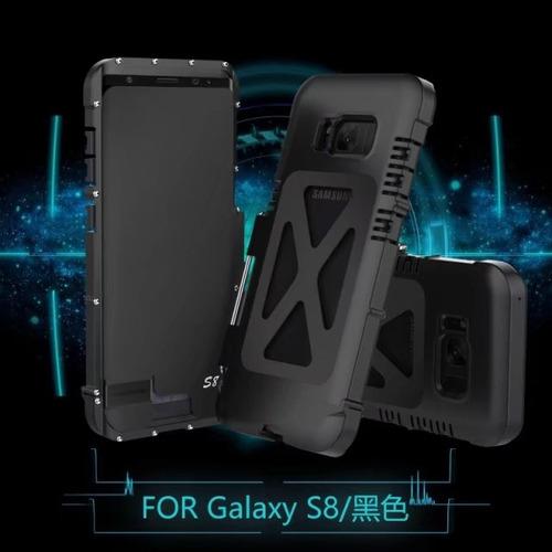 funda armor king iron man samsung galaxy s8 plus / s8+