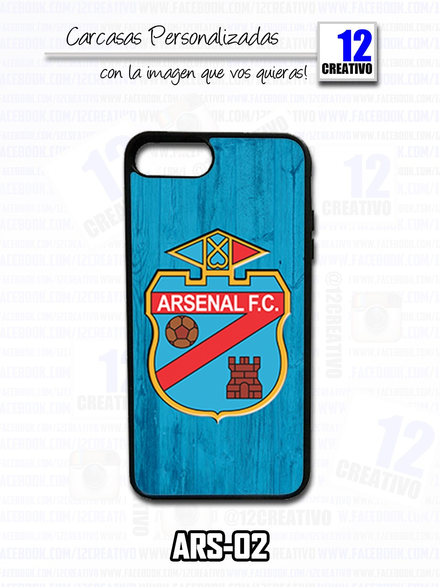 funda iphone 6 arsenal