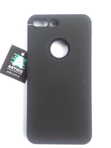 funda artiko- iphone 7 plus-tortoise negro
