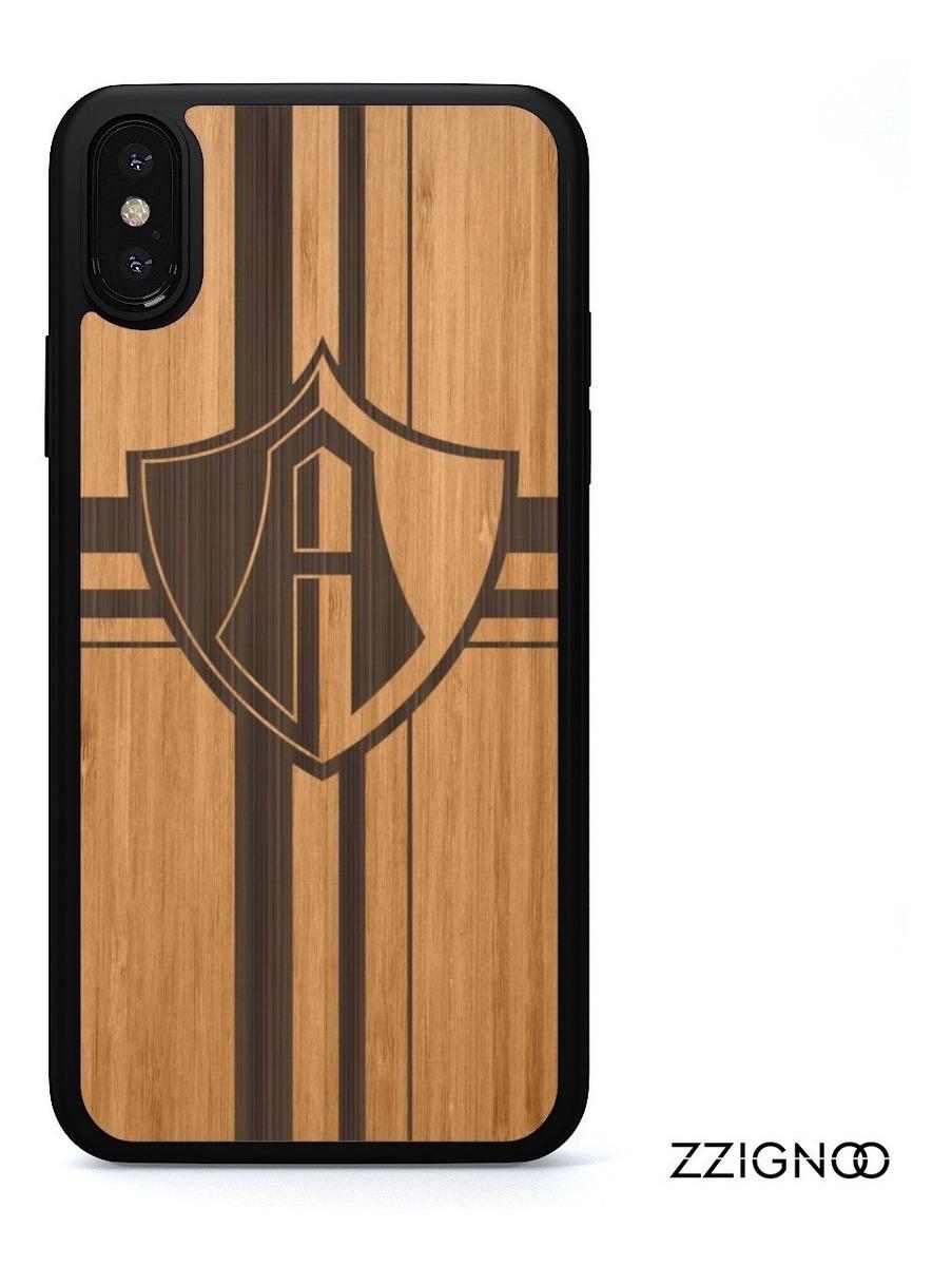 8d9be1ddf3f Funda Atlas Case Madera Bambu Grabado iPhone X 8 7 6 5 - $ 399.00 en ...