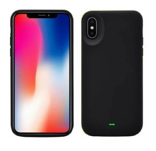 funda bateria cargadora power bank iphone x  xs premium