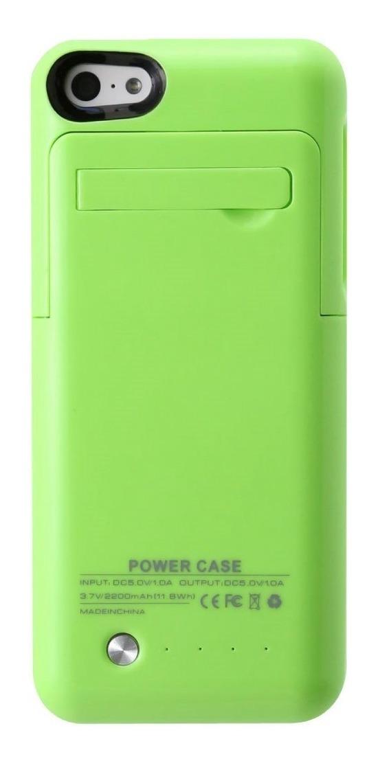 c6c893e1494 Funda Batería Externa iPhone 5 5c 5s Se 2200 Mah Eg - $ 418.99 en ...
