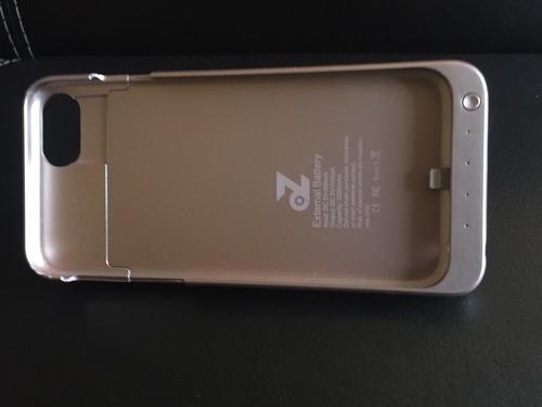 funda batería externa iphone 6 color rosa