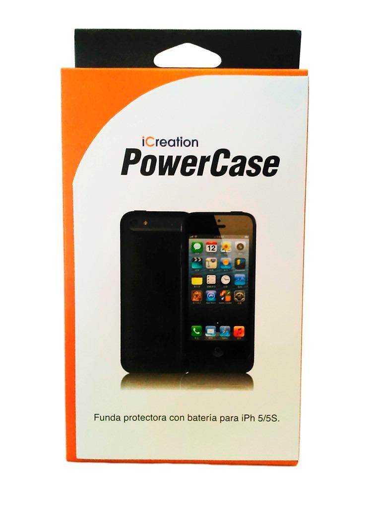 ecd6d88beb1 funda batería iphone 5s 5 2200mah power case recargable. Cargando zoom.