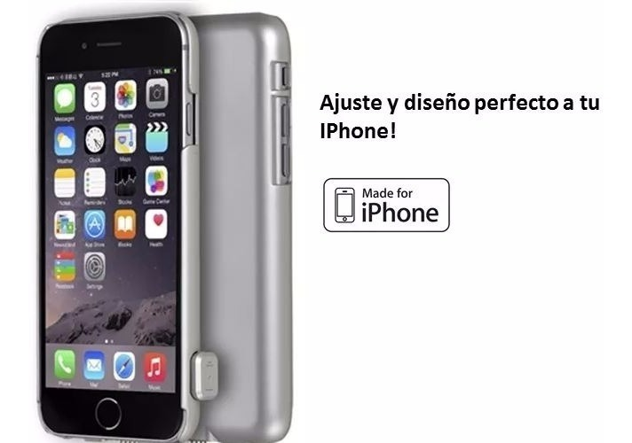 funda iphone 6s bateria