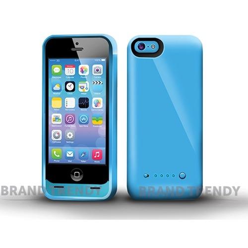 Funda bateria para iphone 5c capacidad 2600 mah envio for Funda bateria iphone