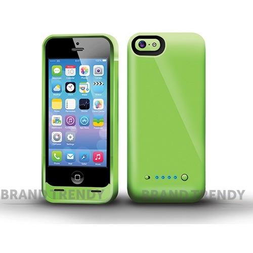 funda bateria para iphone 5c capacidad 2600 mah envio gratis