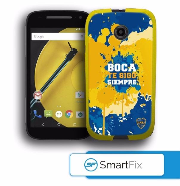 0e1dad60b76 Funda Boca Juniors Motorola Moto E2 Original - $ 250,00 en Mercado Libre