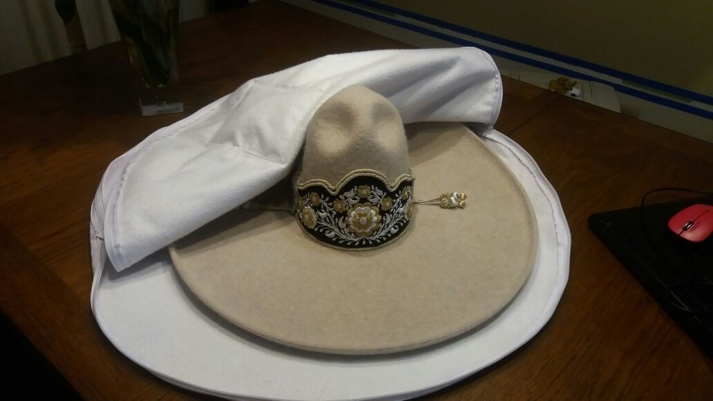 bdcacfb2694b7 Funda bolsa para sombrero charro u otros envio gratis jpg 1032x581 Charro  economico sombreros en mexico