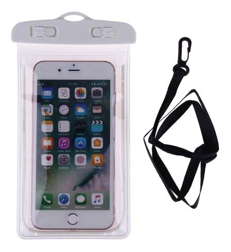 funda bolsa sumergible celular camara digital selfie agua