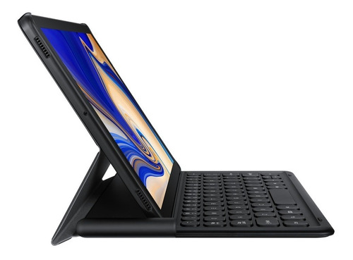 funda book cover keyboard tab s4 black