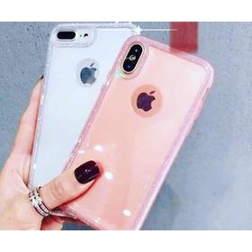 Funda Borde Brillos iPhone 7/8
