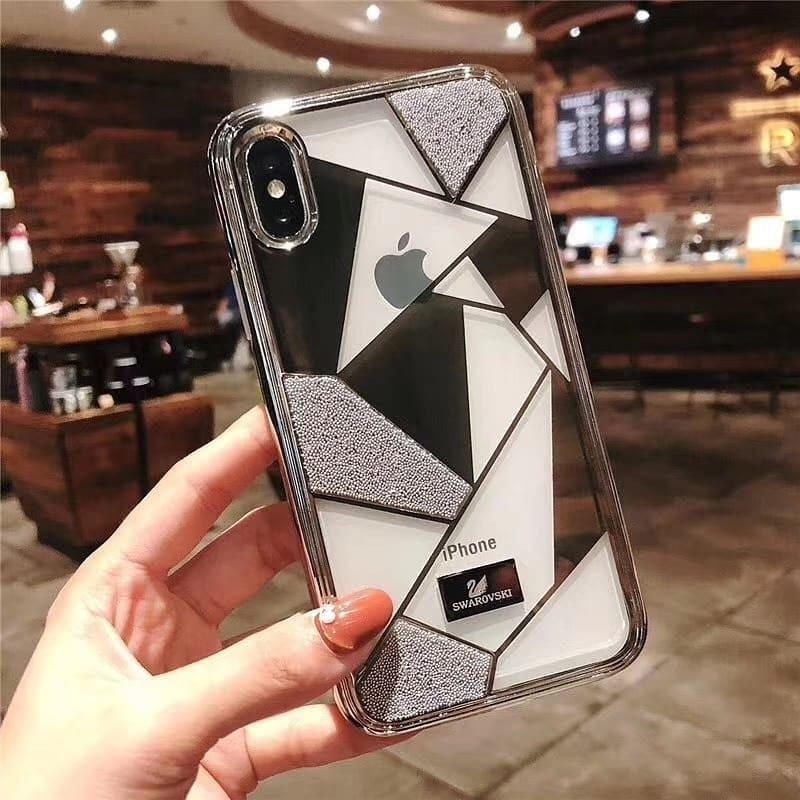 info for cba1c ad9f8 Funda Brand Case iPhone Xs Max Xr X 6 7 8 Plus 10 Swarovski
