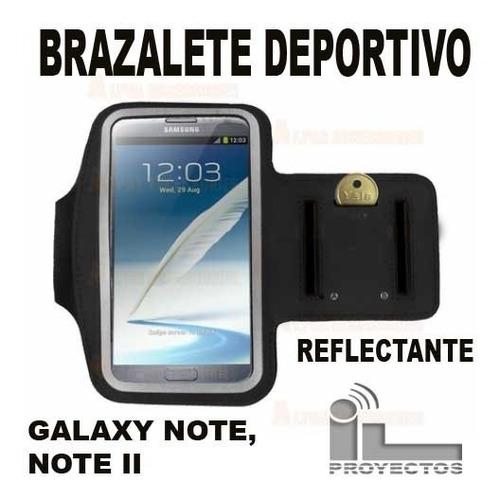 funda brazalete deportivo reflectante galaxy note note ii