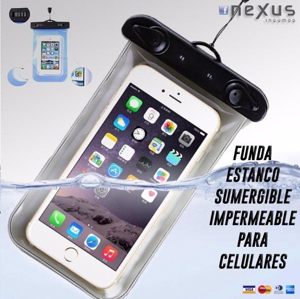 41c6b414d60 Funda Brazalete Impermeable P/ Celulares - $ 243,00 en Mercado Libre