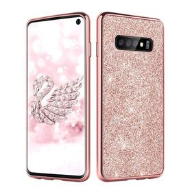 Funda Brillo Glitter Bling Samsung S8 S9 S10 Plus Note 8 9