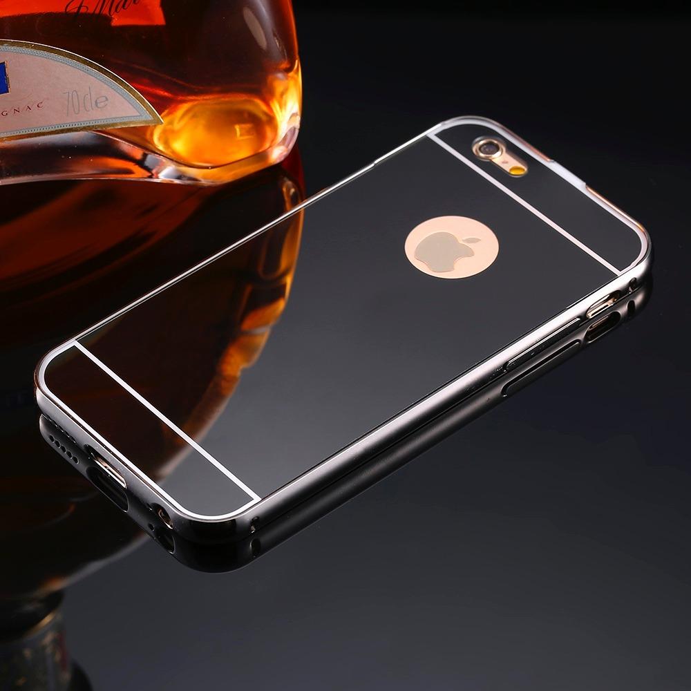 9ea91d227b3 funda bumper-aluminio espejo iphone 5s se + mica cristal. Cargando zoom.